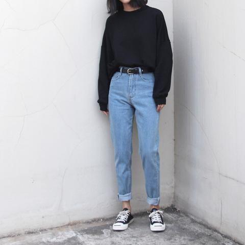 Vintage Boyfriend Jeans | Vintage boyfriend jeans, Aesthetic .