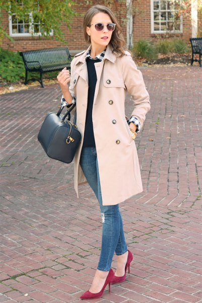 How to Style Walker Coat: Top 15 Stylish Outfit Ideas for Ladies .