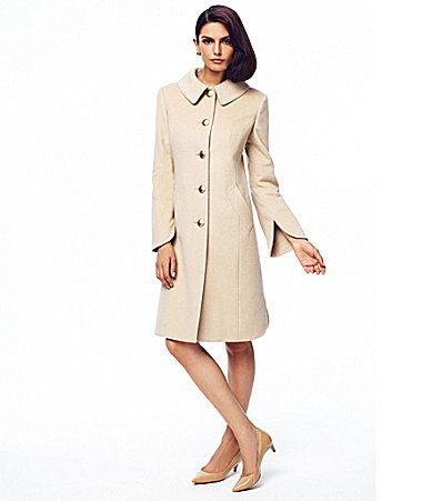 Katherine Kelly BellSleeve Cashmere Walker Coat #Dillards One day .
