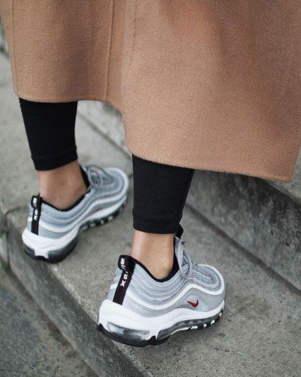 Fashion Girl Outfits - Nike Air Max 97 Sneake