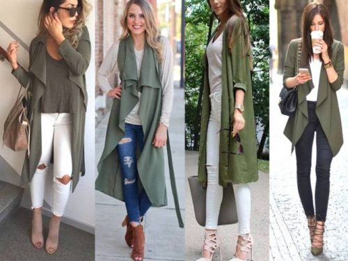 How to wear long cardigans | | Just Trendy Gir