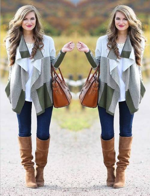 How to wear the waterfall cardigan | | Just Trendy Gir