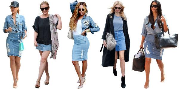 3 Modern Ways to Wear a Denim Skirt - College Fashi