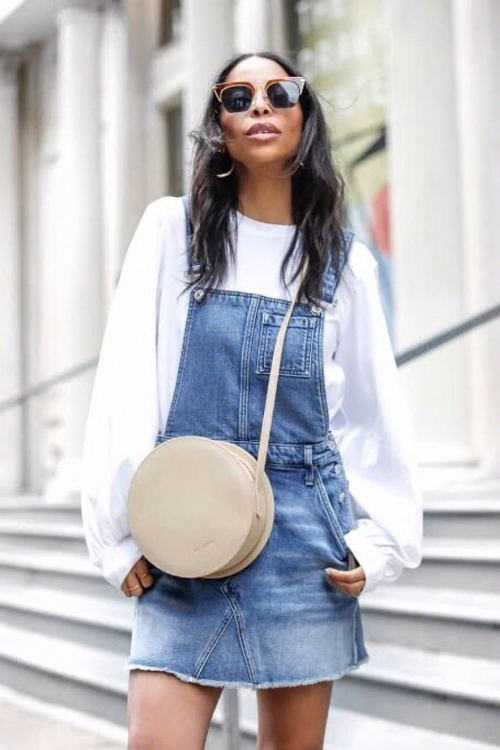 Found: The Best Overall Dress Outfits for Fall   Who What We