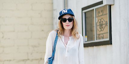 How To Wear Baseball Caps: Taught By Bloggers | StyleCast