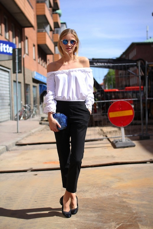 Coolest Ways to Wear Off The Shoulder Top Dre