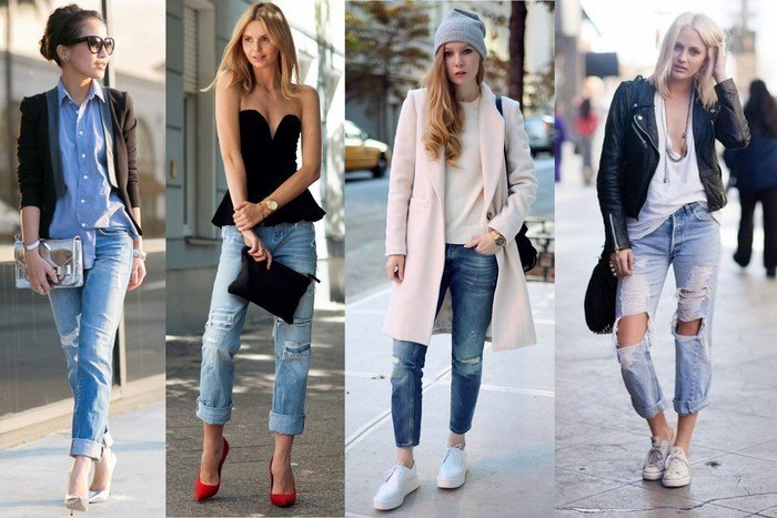 30 Stylish Shoes to Wear With Boyfriend Jeans For Chic Lo
