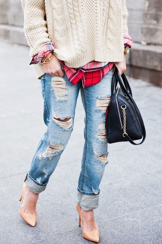 How to wear Girlfriend Jeans | Jeans outfit fall, Girlfriend jeans .