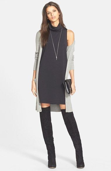 How to Style Black Turtleneck Dress in 15 Chic Ways - FMag.c