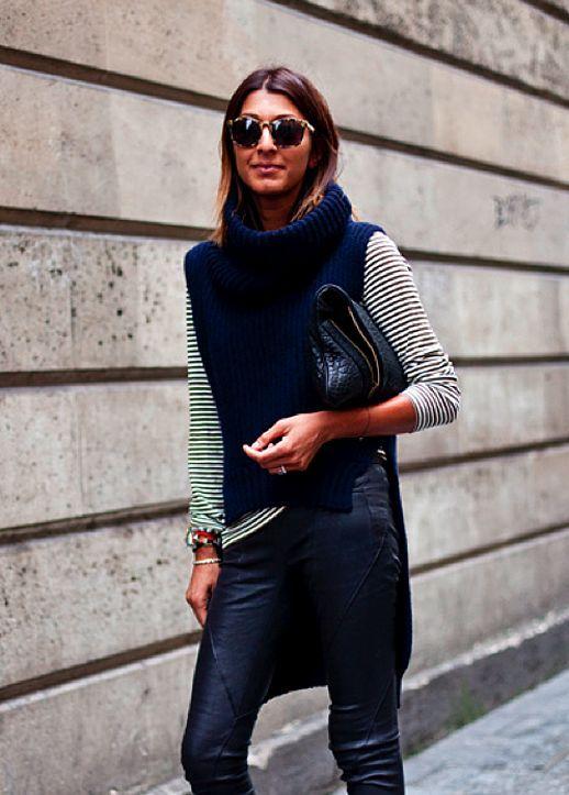 6 Tips on How to Wear Sleeveless Turtleneck Tops | Fashion, Street .