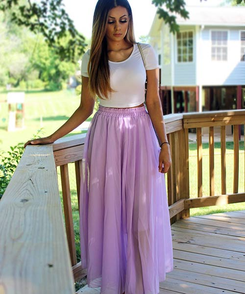 How To Wear A Maxi Skirt - 20 Best Outfi