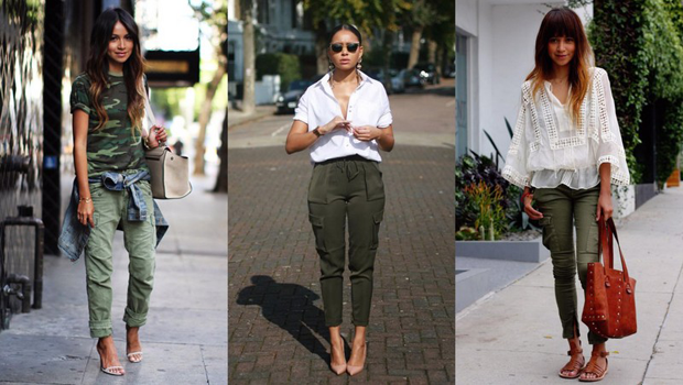 22 Outfit Ideas to Wear Cargo Pants in a Posh W