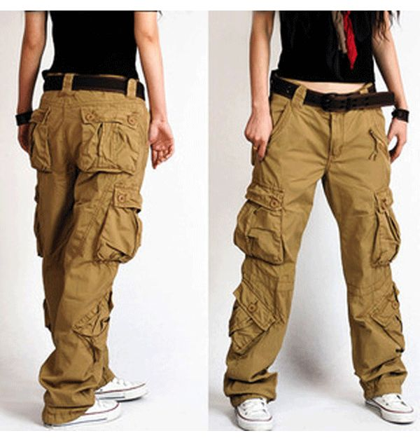 Make a Style statement with Cargo pants for women .