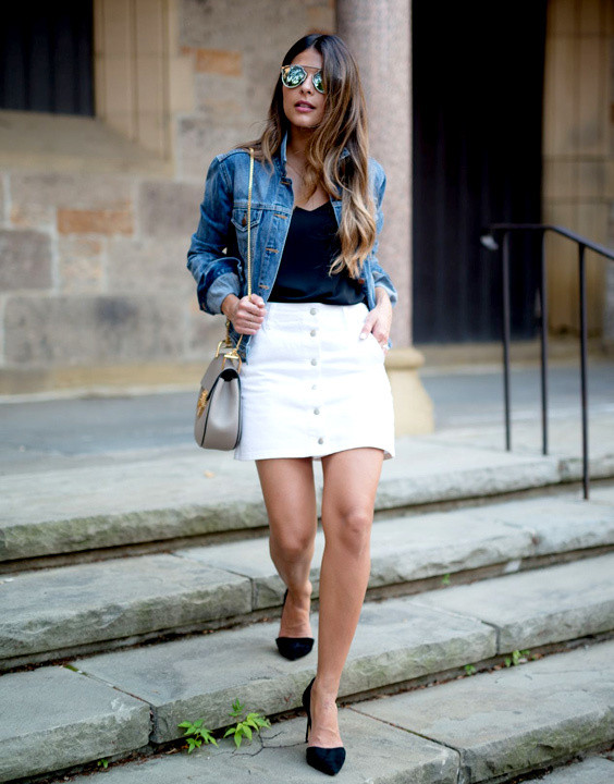 How To Wear Denim Jackets for Women In Different Styles | Bewakoof .