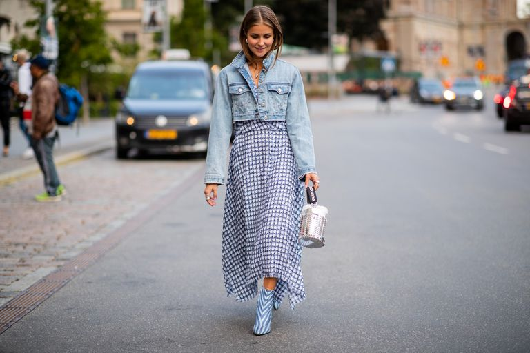 10 Stylish Ways to Wear a Jean Jacket This Summ