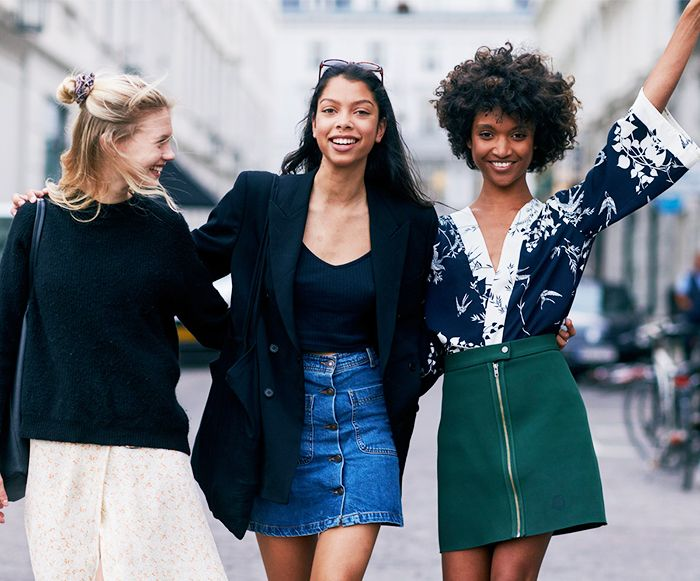 9 Denim-Skirt Outfits That Are So Chic | Who What We
