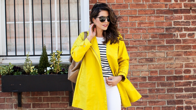 Yellow Raincoats Are the Next Big Street Style Trend | StyleCast