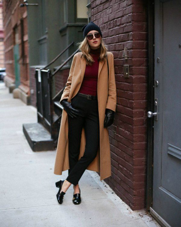 What to Wear with Heeled Loafers: Top 15 Outfit Ideas | Black .