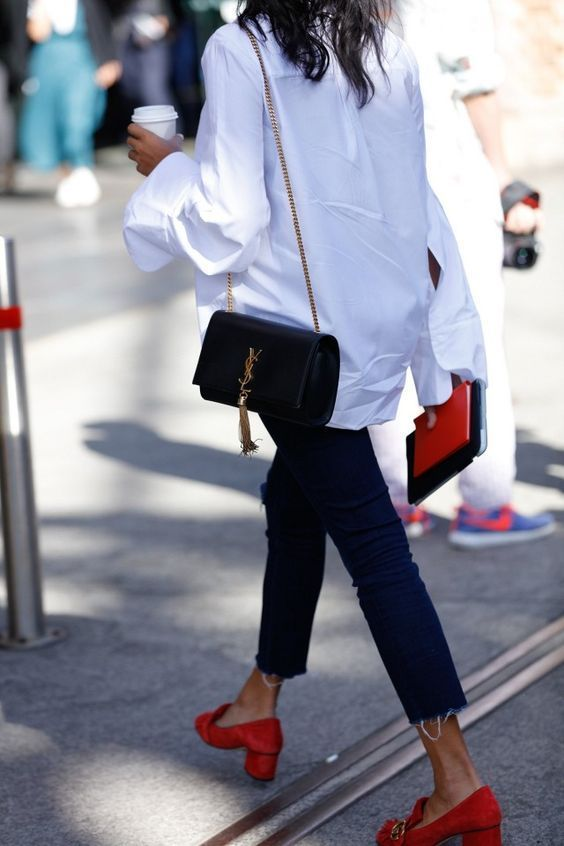 Friday Favorites - Heeled Loafers | Street style trends, Fashion .