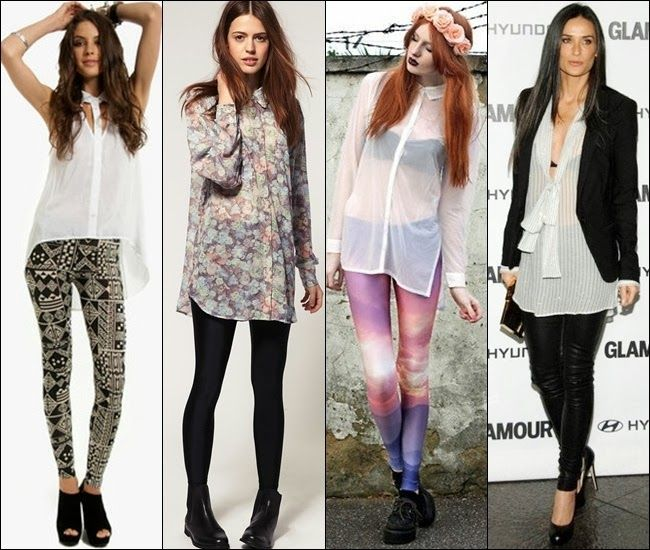 Style Guide: How to wear leggings the right way | Tops for .