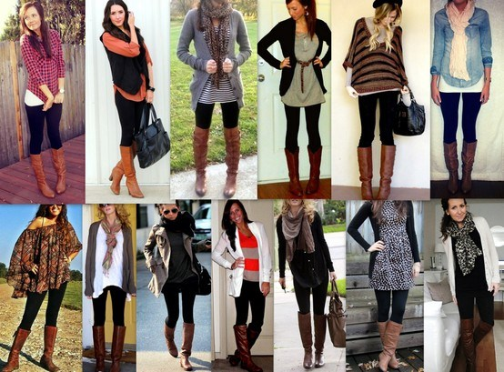 Outfits with Black Leggings – 21 Ways to Wear Black Leggin