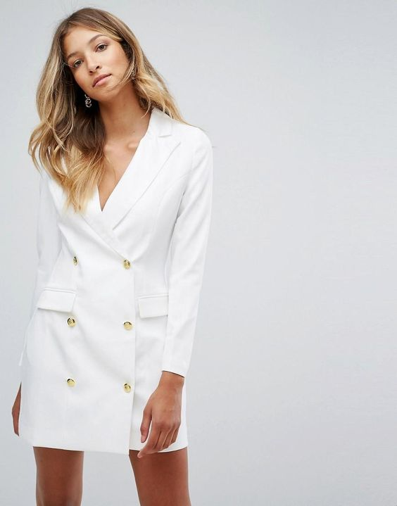 White Blazer Dress: The Ultimate Style Guide - FMag.c