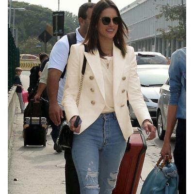 Double Breasted Blazers for Women Ladies Blazer Blazer Jacket .