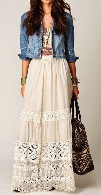 50+ Outfit Ideas to Be Fashionable in August | Fashion, Boho .