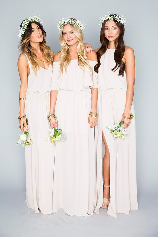 50 Chic Bohemian Bridesmaid Dresses Ideas | Deer Pearl Flowers .