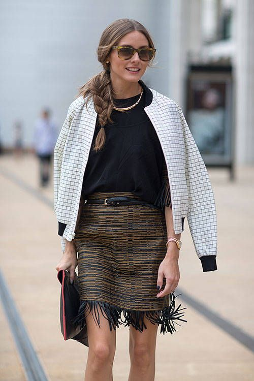 40 Stylish Outfit Ideas with Bomber Jacket - Sort