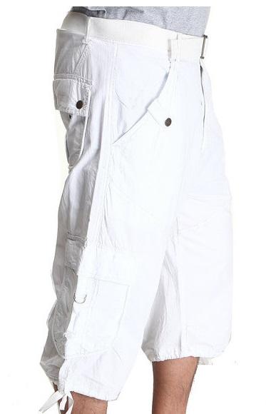 White Cargo Shorts – An Evergreen Fashion Statement | Camo Pan