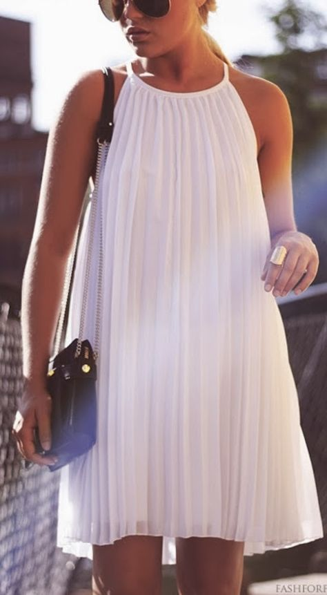 Style Guide: How to wear and style white color this summer .