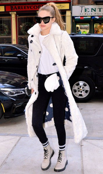 How to Style White Combat Boots: Top 13 Outfits - FMag.c