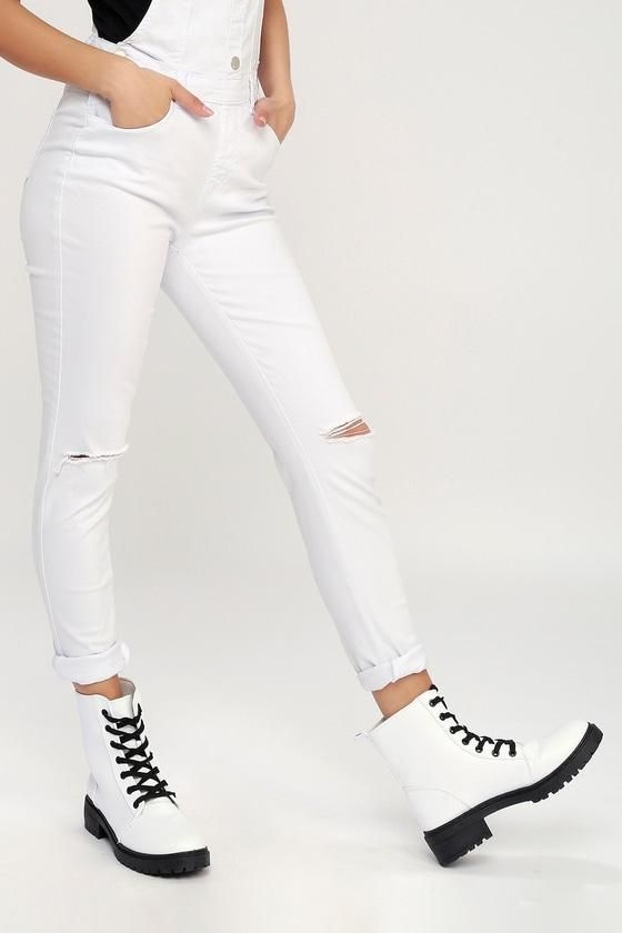 Valentine's Day Sale! #EnvyWe #Lulus - #Lulus Effy White Lace-Up .