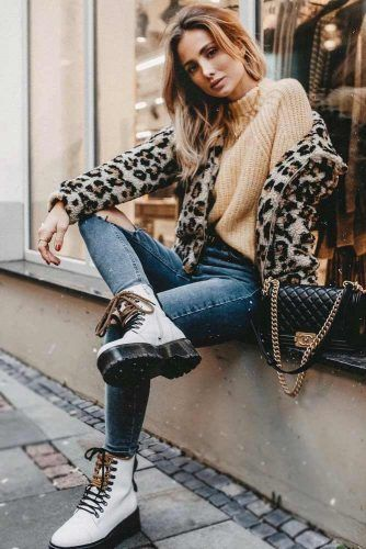 Stylish Combat Boots Combos Every Fashionable Lady Should Consid