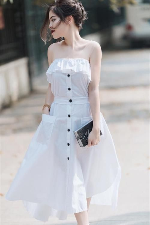Casual Cotton Dresses Ideas For Summer 2019 on Stylevo