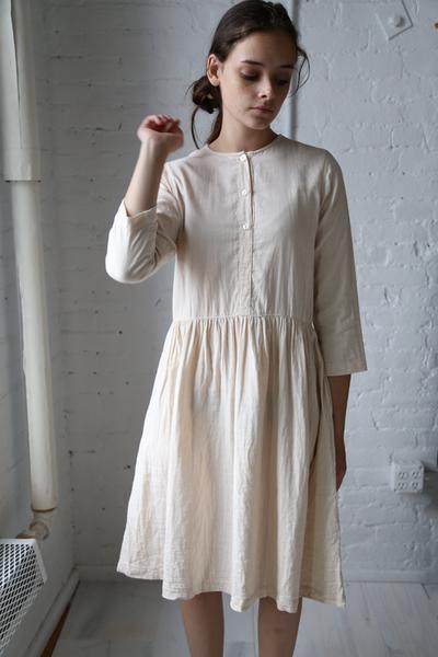 Wrk Shp Button Dress Blush … | Fashi