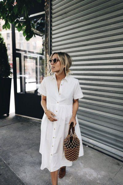 15+ Cotton Summer Dress Outfit Ideas | Fashion, Spring outfits, Sty