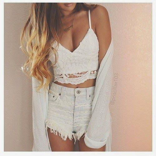 CROCHET TOP - OUTFIT SET | Top outfits, Crochet top outfit, Crop .