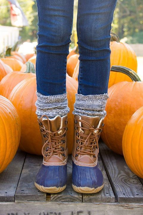 Excellent Duck Boots Ideas For Women | Duck boots outfit, Duck .