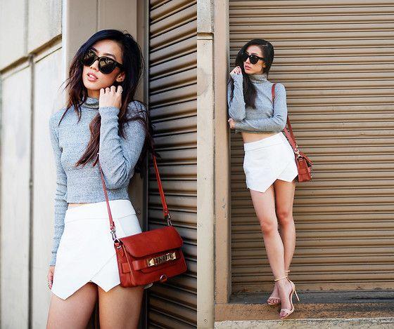 Jenny Ong - Proenza Schouler Ps11 Mini, Céline Audrey Sunglasses .