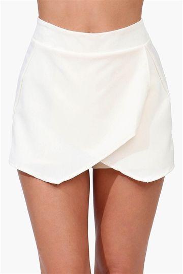 white envelope skirt | Fashion, White envelope skirt, Envelope ski