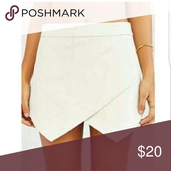 Arden B white envelope skirt White skort. Stretchy fabric and .