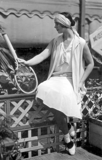 1920s tennis outfit. This would be a fun summer costume that isn't .