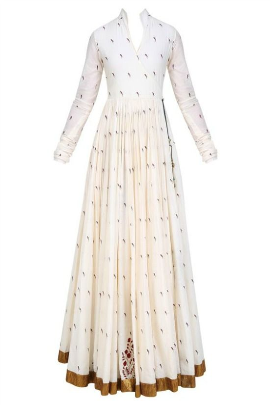 Floor length Or Gown style kurti | Floor length dresses indian .