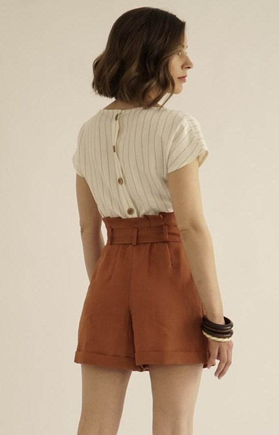 How to Style High Rise Shorts: Top 13 Amazingly Cool Outfit Ideas .