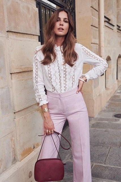 15 Edgy Boho Lace Blouse Outfits - Styleohol