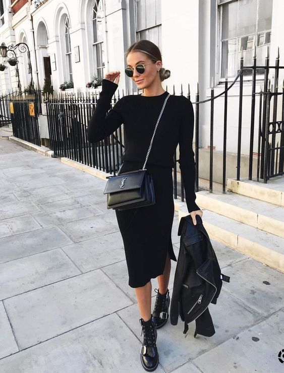 All Black Outfit Ideas to Copy This Week | All black outfits for .