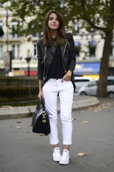 Fall Outfit Ideas: How to Wear Black and White | Glamo