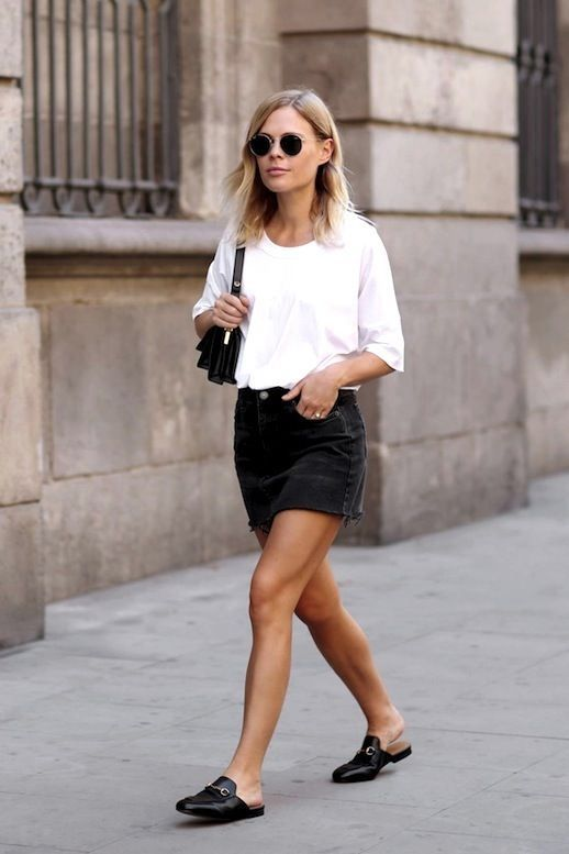 32 Ideas To Inspire You To Wear Mini Skirt Outfits This Summer .